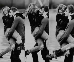 black and white, boyfriend, and couples image