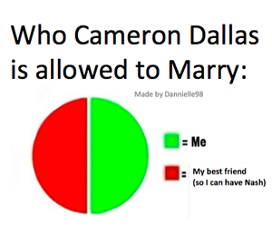 nash grier, marry, and cameron dallas image