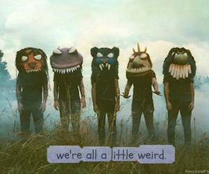 weird, monster, and quote image