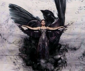 katniss everdeen, mockingjay, and hunger games image