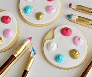 paint, art, and Cookies image