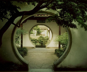 architecture, china, and garden image