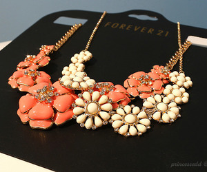 fashion, necklace, and forever 21 image