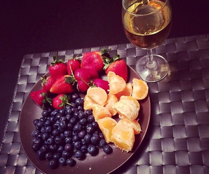 evening, food, and fruit image