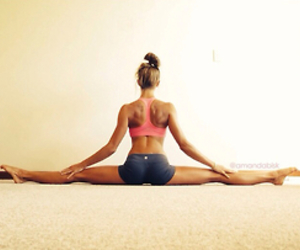 fitness, flexible, and gym image