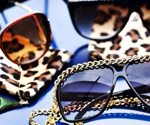 sunglasses, glasses, and leopard image