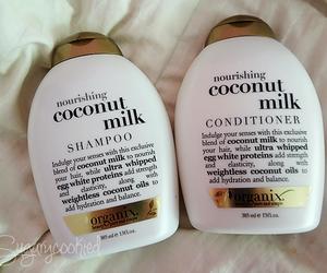 coconut and shampoo image