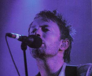 music, radiohead, and thom yorke image
