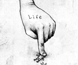 life and squashed image