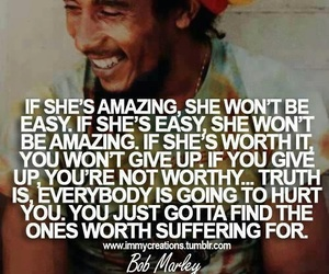 bob marley, quote, and amazing image