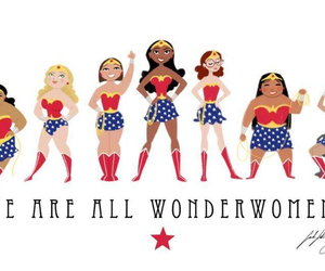 woman, wonderwomen, and girl power image
