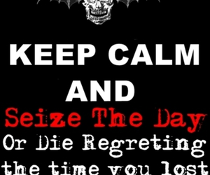 a7x, keep calm, and poster image