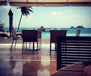 summer, luxury, and beach image