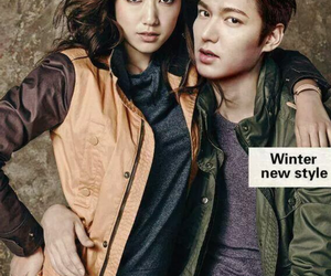 park shin hye and lee min ho image