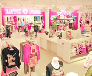 pink, Victoria's Secret, and clothes image