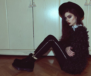black, vintage, and cool image
