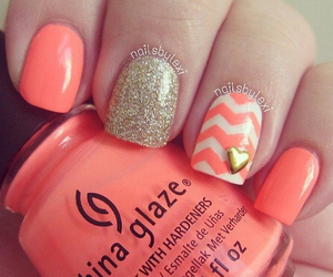 bright, coral, and summer image