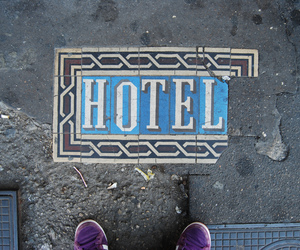 hotel and typography image