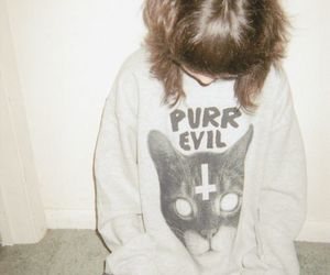 grunge, cat, and indie image