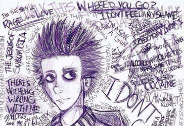 green day, st jimmy, and jesus of suburbia image