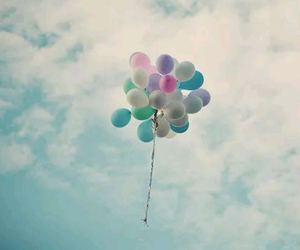 balloons, heaven, and blu image