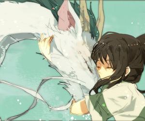 chihiro, spirited away, and anime image
