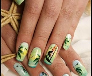 awesome, nails, and patterned image