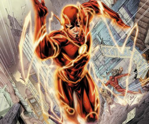 flash, comic, and justice league image