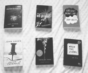 abundance of katherines, perfection, and paper towns image