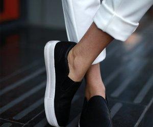 bloggers, fashion, and slip on image