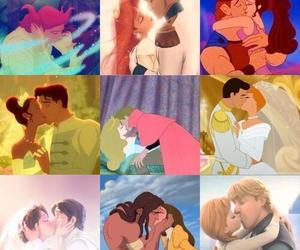 disney, kiss, and princess image