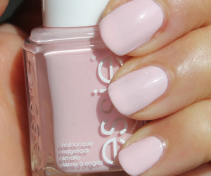 nailpolish, nails, and pink image