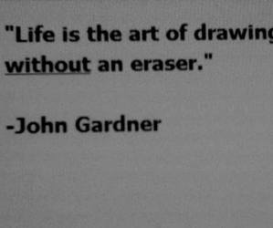 quote, life, and art image