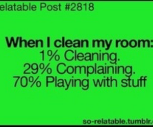 cleaning, me, and true image