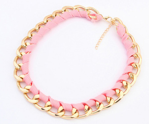 pink, gold, and love image
