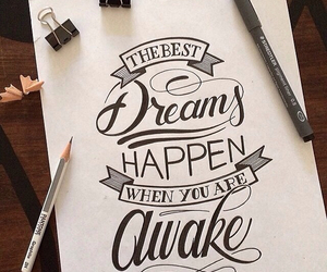 awesome, lettering, and text image