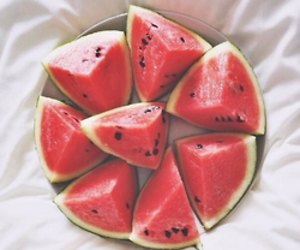 beach, lovley, and watermelon image