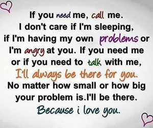 love, problem, and quote image