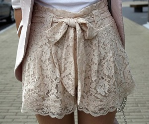 fashion, lace, and skirt image