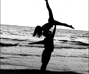 beach, dancer, and dance image