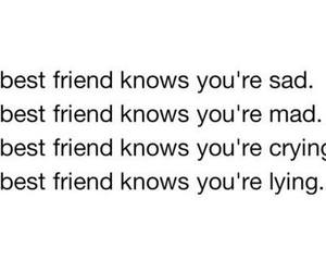 best friend, text, and crying image