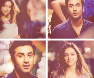 deepika padukone, ranbir kapoor, and bollywood image