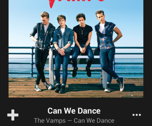can we dance, the vamps, and love this music image