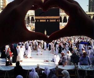 muslim, allah, and kabah image