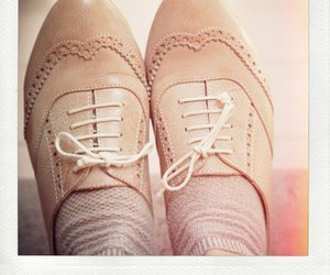 girly, oxford, and shoes image