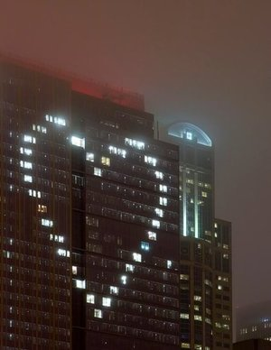 Build, heart, and lights image