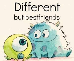 different, friends, and best friends image