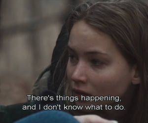 girl, Jennifer Lawrence, and movie image