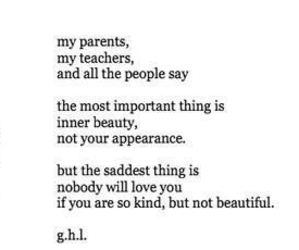 sad, quote, and beauty image
