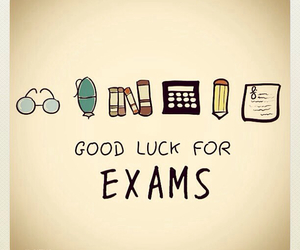 exam, good luck, and text image